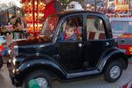 London black cab taxi at Hyde Park Winter Wonderland