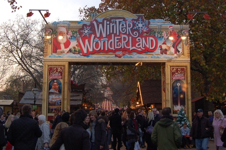 Hyde Park Christmas Wonderland in London