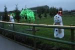 Snowmen at Twinlakes Magical Winter Wonderland