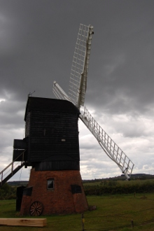 Windmill at Avoncroft Historical Building Museum in Bromsgrove Worcestershire