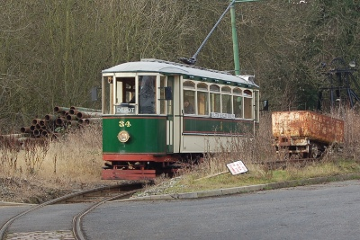 Tram at Black Country Living Museum