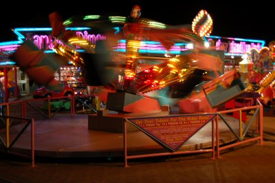 Bowleaze Cove Fun Fair, Weymouth, Dorset, UK