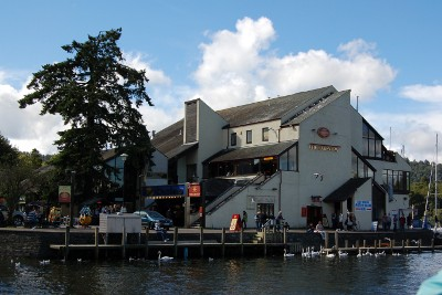 The Lakeview pub and amusements at Bowness-On-Windermere