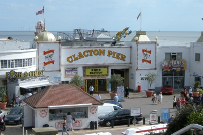Pier at Clacton-on-Sea