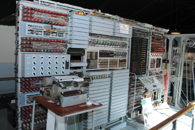 Colossus computer at The National Museum of Computing at Bletchley Park