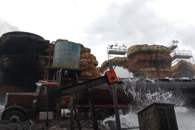 Behind the Magic, Walt Disney Studio tram tour at Disneyland Paris