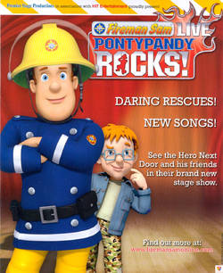 Fireman Sam Live - Pontypandy Rocks - theatre stage show