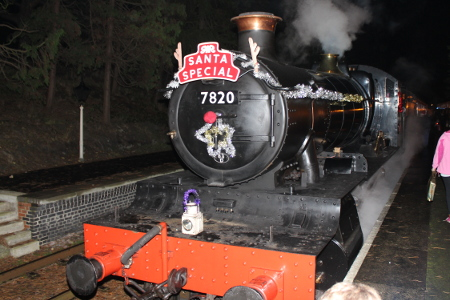 GWR Santa Special Steam Train