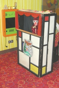 Punch and Judy show on Stena Line - Hook of Holland to Harwich ferry