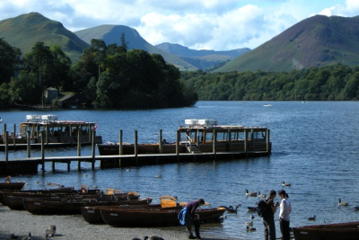 Keswick Launch Company - boat trips and rowing boats on Derwent Water