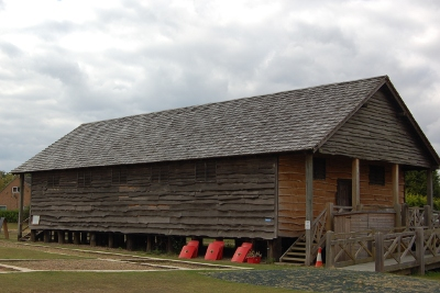 Granary / Museum at the Lunt Roman fort, Coventry