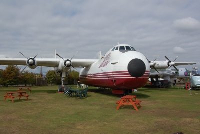 Cargo plane at the Midlands Air Museum