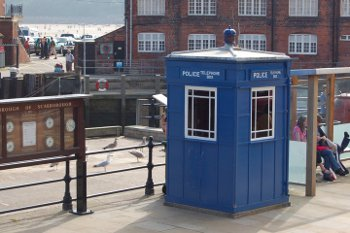 Scarborough Police Box (Tardis!)