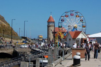 Scarborough - Harbour and fun fair