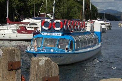 Boat at Lakeside on Windermere Cruises