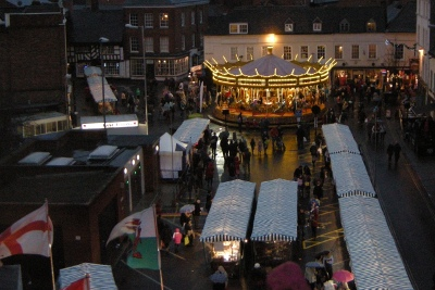 Worcester Christmas Market and Christmas Fayre