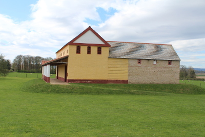 Roman Town House at Wroxeter Roman City