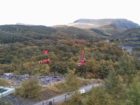 Zip World in Wales